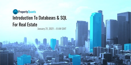 [PQ REDS Series] Introduction to Databases  & SQL for Real Estate tickets