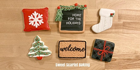 Christmas Adult Intermediate Cookie Decorating Class