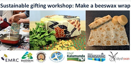Sustainable gifting workshop: Make a beeswax wrap tickets