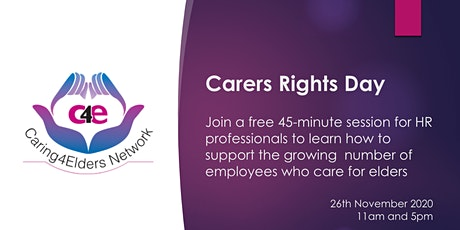 Carers Rights Day | Free HR Session tickets