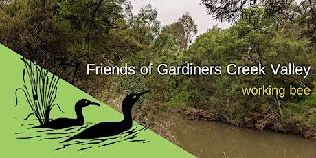 Friends of Gardiners Creek Valley Nov 2020 Working Bees tickets