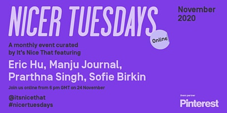 Nicer Tuesdays Online: November tickets