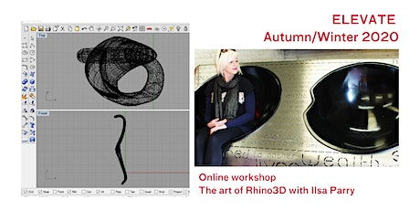 ELEVATE 2020: The Art of Rhino3D with Ilsa Parry tickets