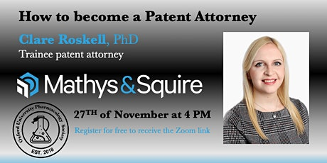How to become a Patent Attorney tickets