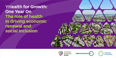 YHealth for Growth: One Year On tickets