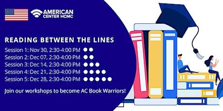 English Workshop: Reading Between the Lines (Beginner & Pre-intermediate) tickets