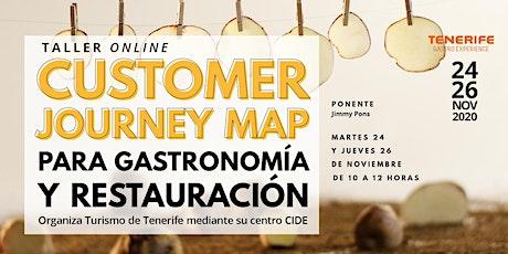 Customer Journey Map para gastronomía y restauración entradas