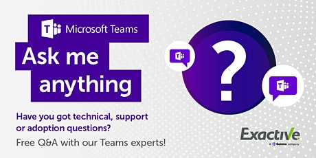 Microsoft Teams 'Ask Me Anything' - December Tickets