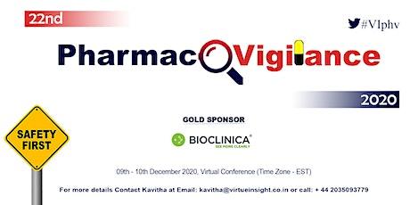22nd Pharmacovigilance 2020 (Virtual Conference) tickets