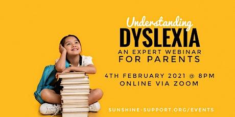 Understanding Dyslexia - for parents tickets