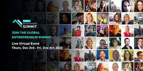 GLOBAL ENTREPRENEUR SUMMIT (GES) LIVE VIRTUAL EVENT tickets
