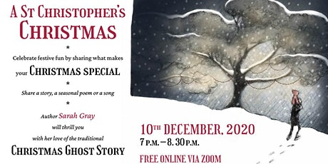 A St Christopher's Christmas with author, Sarah Gray tickets