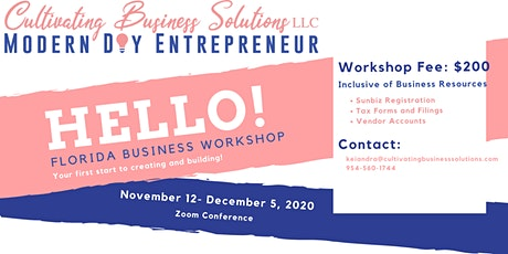 Florida Business Course (Start Up & Registration) tickets