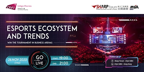 Esports Ecosystem in Hong Kong :  Win the Tournament in Business Arenas tickets