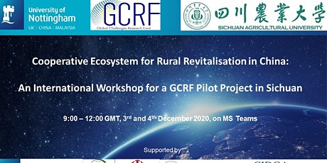 Cooperative Ecosystem for Rural Revitalisation in China tickets