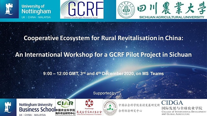 Cooperative Ecosystem for Rural Revitalisation in China image