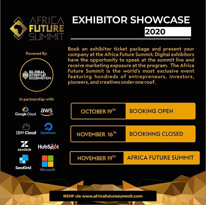 Africa Future Summit 2020 image