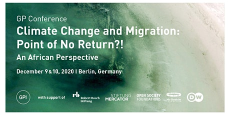 Climate Change and Migration: Point of No Return?! An African Perspective tickets