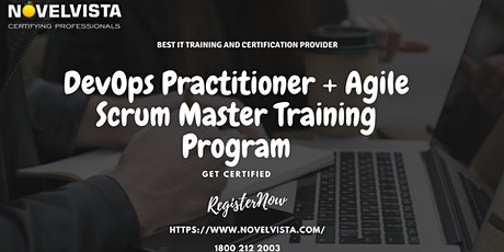 DevOps Practitioner + Agile Scrum Master Certification and Training tickets