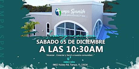 INAUGURACIÓN - Tampa Spanish SDA boletos