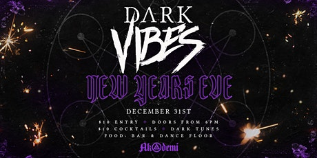 Dark Vibes - NYE 20/21 tickets