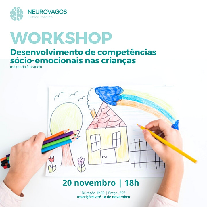 imagem Workshop: Desenvolvimento de Competências Sócio-emocionais nas crianças