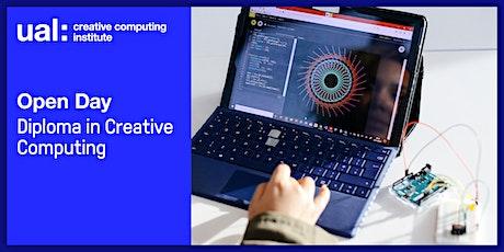 UAL CCI Open Day: Diploma in Creative Computing