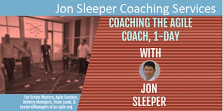 Coaching for the Agile Coach tickets