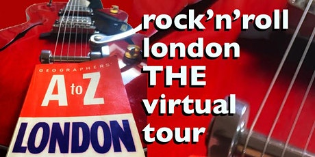 The VIRTUAL Rock'n'Roll London Walk With LIVE Music + Prize Pub Quiz! tickets