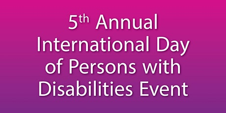 International Day of Persons with Disabilities Event tickets