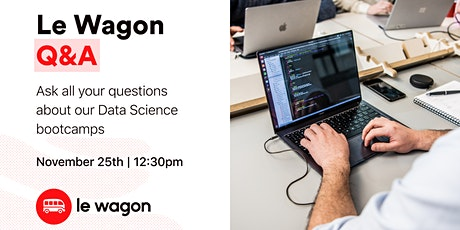 Discover our Data Science bootcamps! tickets