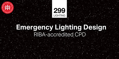 Emergency Lighting Design - Whodunnit? RIBA CPD tickets