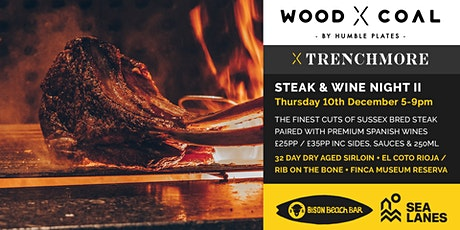 Sussex Steak & Spanish Wines By The Sea II ft. Trenchmore tickets