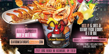 Seafood Saturdays tickets