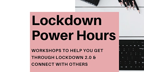 Lockdown Power Hour:  End the year on a high with a growth mindset tickets