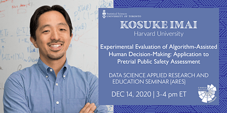 Data Science Applied Research and Education Seminar: Kosuke Imai tickets