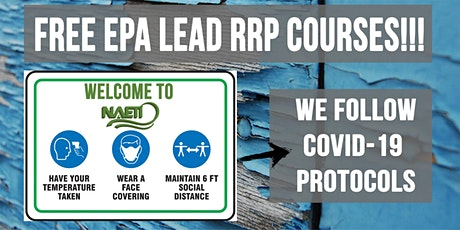 EPA Lead RRP Initial Course in Spanish tickets