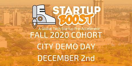 Startup Boost Pre-Accelerator Kenya Demo Day December 2nd 2020 tickets