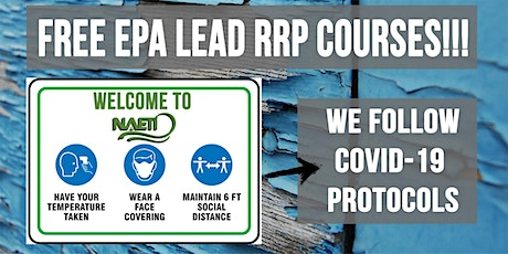 EPA Lead RRP Refresher Course in English tickets