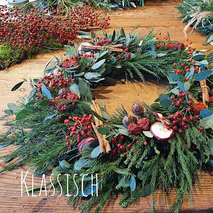 Adventskränze binden, die pure Weihnachtsvorfreude: Bild