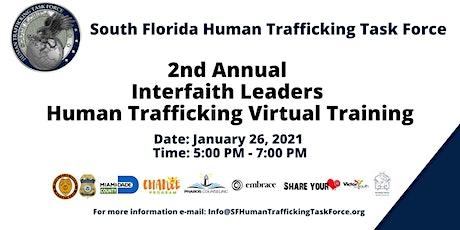 2nd Annual Interfaith Leaders Human Trafficking  Virtual Training tickets