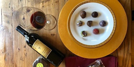 Valentine's Day - Artisan Wine and Chocolate: A Pairing Event (1st Seating) tickets