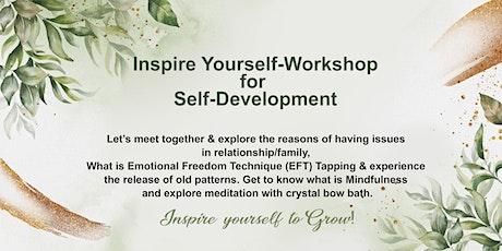 """Inspire Yourself""-Workshop for Self-Development tickets"