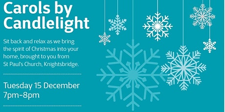 MS Society Virtual Carols by Candlelight tickets