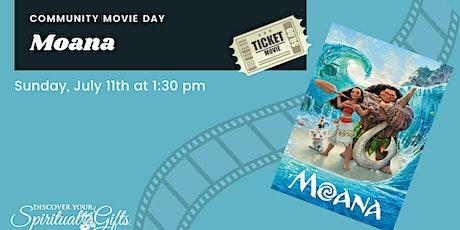 Family Movie Day: Moana tickets
