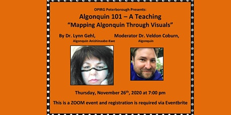 Algonquin 101: Mapping the Algonquin through Visuals,  with Lynn Gehl tickets