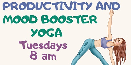 Yoga to boost productivity| Neck & back pain relief |Tuesdays|  8 am GMT tickets