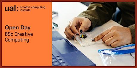UAL CCI Open Day: BSc Creative Computing
