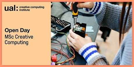 UAL CCI Open Day: MSc Creative Computing tickets