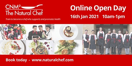 Natural Chef Online Open Day IE tickets